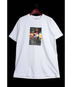 Supreme×COMME des GARCONS SHIRT(シュプリーム × コムデギャルソンシャツ)の古着「HAROLD HUNTER TEE/プリントTシャツ」 ホワイト