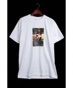 Supreme×COMME des GARCONS SHIRT(シュプリーム × コムデギャルソンシャツ)の古着「プリントTシャツ」 ホワイト
