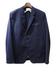 N.HOOLYWOOD × Ron Herman(エヌハリウッド × ロンハーマン)の古着「シアサッカーセットアップスーツ」|ネイビー