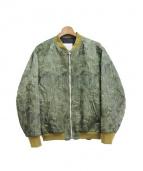 FAD3(ファッドスリ)の古着「MA-1ジャケット」|カーキ