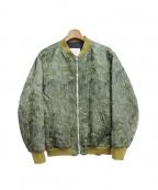 FAD3(ファドスリー)の古着「MA-1ジャケット」 カーキ