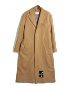 MISBHV(ミスビヘイブ)の古着「バックワッペンチェスターコート」|ベージュ