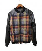 FAD3(ファドスリー)の古着「ヴァーシティージャケット」 ブラック