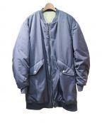 FAD3(ファドスリー)の古着「MA-1型コート」 ネイビー