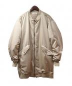 FAD3(ファドスリー)の古着「MA-1コート」 ベージュ