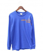Supreme×COMME des GARCONS SHIRT(シュプリーム × コムデギャルソンシャツ)の古着「長袖Tシャツ」 ブルー