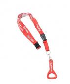 SUPREME(シュプリーム)の古着「ボトルオープナーランヤード・栓抜き ネックレス」|レッド×ホワイト