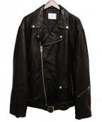 SUB-AGE.(サベージ)の古着「16AW/レザージャケット」|ブラック