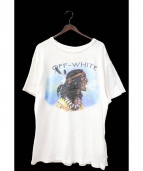 OFF WHITE(オフホワイト)の古着「Tシャツ」|ホワイト