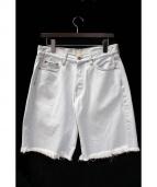 OFF WHITE(オフホワイト)の古着「ハーフパンツ」|スカイブルー
