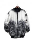 REPRESENT(リプレゼント)の古着「ジャケット」|ホワイト×ブラック