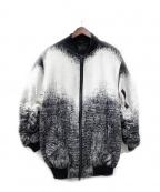 REPRESENT(リプレゼント)の古着「ジャケット」 ホワイト×ブラック