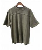 YEEZY season3(イージーシーズン3)の古着「オーバーサイズTシャツ」|グリーン