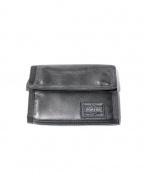 POTER(ポーター)の古着「二つ折り財布」|ブラック