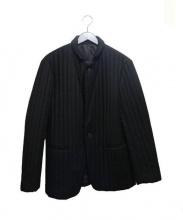 JOHN LAWRENCE SULLIVAN(ジョンローレンスサリバン)の古着「中綿テーラードジャケット」|ブラック