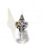 Gabor(ガボール)の古着「SKULL WITH SPIKE RING」