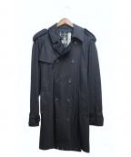 GRENFELL(グレンフェル)の古着「トレンチコート」|ブラック