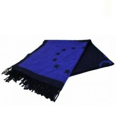Etudes(エチュード)の古着「大判ストール」|ブルー