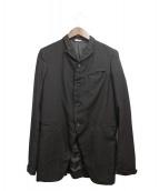 COMMEdesGARCONSHommePlus(コム デ ギャルソン オム プリュス)の古着「ライナースカーフジャケット」 ブラック