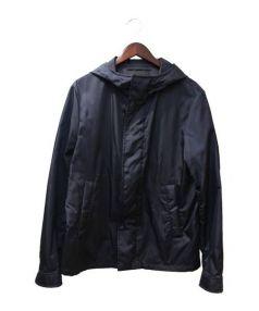 PRADA(プラダ)の古着「ナイロンジャケット」 ネイビー