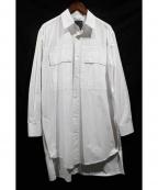 CRAIG GREEN(クレイグ グリーン)の古着「ロングシャツ」|ホワイト