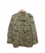 Hysteric Glamour(ヒステリックグラマ)の古着「M65ジャケット」|カーキ