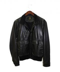 THEE HYSTERIC XXX(ジィヒステリックトリプルエックス)の古着「レザージャケット」|ブラック