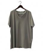 OFF WHITE(オフホワイト)の古着「ヴィンテージ加工Tシャツ」|グレー