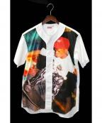 Supreme×COMME des GARCONS SHIRT(シュプリーム × コムデギャルソンシャツ)の古着「ベースボールシャツ」 ホワイト