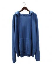 UNUSED(アンユーズド)の古着「再構築パーカー」 ブルー