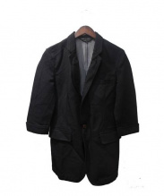 COMME des GARCONS HOMME PLUS(コムデギャルソンオムプリュス)の古着「製品染めジャケット」|ブラック