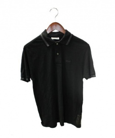 LACOSTE×The POOL aoyama(ラコステxザプールアオヤマ)の古着「ポロシャツ」|ブラック