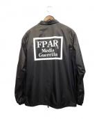 FPAR(フォーティーパーセンツ アゲインストライツ)の古着「内ボアコーチジャケット」 ブラック