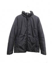 PRADA SPORTS(プラダスポーツ)の古着「リールホルダー付き中綿ナイロンジャケット」|ブラック