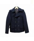 Roen(ロエン)の古着「Pコート」 ブラック