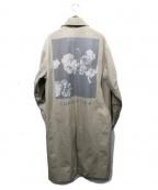 MR.COMPLETELY(ミスターコンプリートリー)の古着「CANVAS DUSTER COAT」|ベージュ