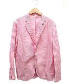 giannetta(ジャンネット)の古着「テーラードジャケット」|ピンク