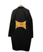 FULL-BK(フルビーケー)の古着「ガウンコート」|ブラック