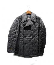 NEIGHBORHOOD x LAVENHAM(ネイバーフッドxラベンハム)の古着「キルティングコート」|ブラック