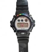 A BATHING APE x G-SHOCK(CASIO)(アベイシングエイプ x ジーショック(CASIO))の古着「腕時計」|ブラック