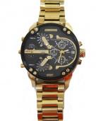 DIESEL(ディーゼル)の古着「腕時計」|ゴールド