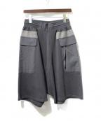 DAMIR DOMA(ダミールドマ)の古着「スウェットハーフパンツ」|ブラック