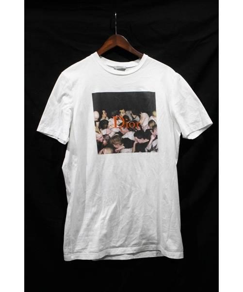 best service fe49c 3bb78 [中古]Dior Homme(ディオールオム)のメンズ トップス エンブロイダリーTシャツ