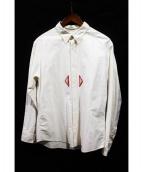 VISVIM(ビズビム)の古着「LUNGTA MENRI B.D. SHIRT/シャツ」|アイボリー
