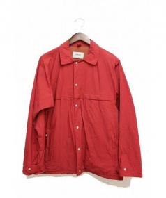 YAECA(ヤエカ)の古着「ナイロンジャケット」|レッド