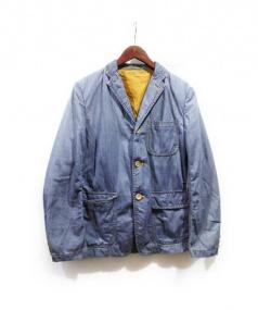 COMME des GARCONS HOMME(コムデギャルソンオム)の古着「デニムテーラードジャケット」|インディゴ