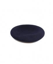 PORTER CLASSIC(ポータークラシック)の古着「ウールベレー帽」|ネイビー
