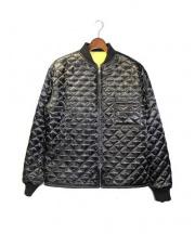 PROPER GANG(プロパーギャング)の古着「MA-1ボンバージャケット」|ブラック×イエロー