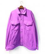 LABRAT(ラブラット)の古着「ジャケット」 パープル
