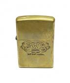 BILL WALL LEATHER(ビルウォールレザ)の古着「ZIPPO」|ゴールド